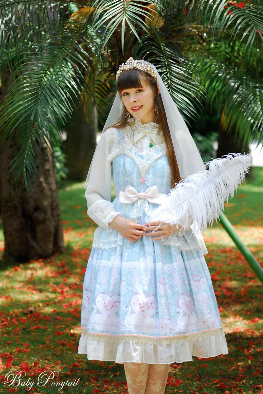 Baby Ponytail Swan Heart Green JSK  Claudia_03.jpg