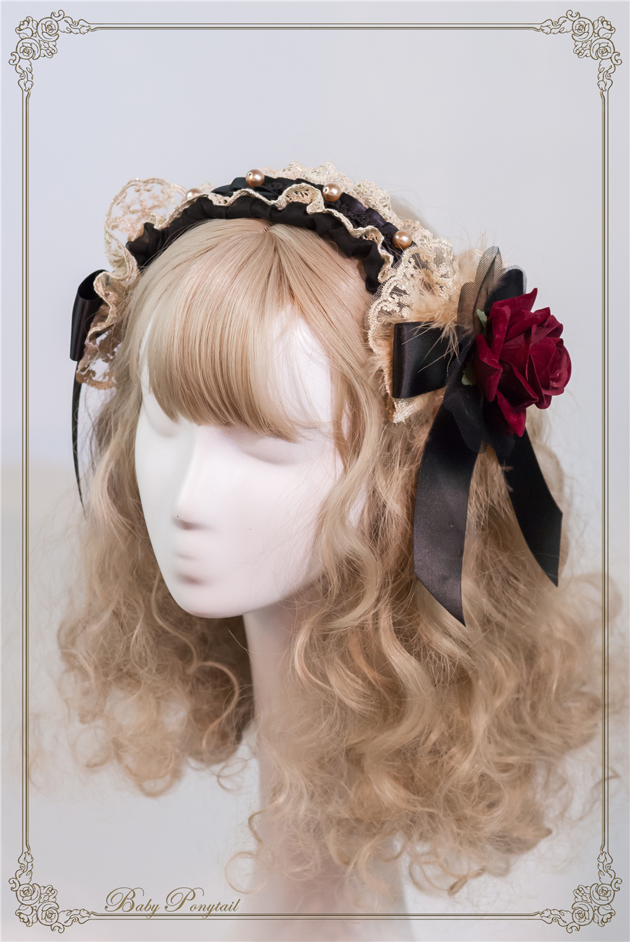Baby Ponytail_Stock photo_Circus Princess_Rose Head Dress Black_02.jpg
