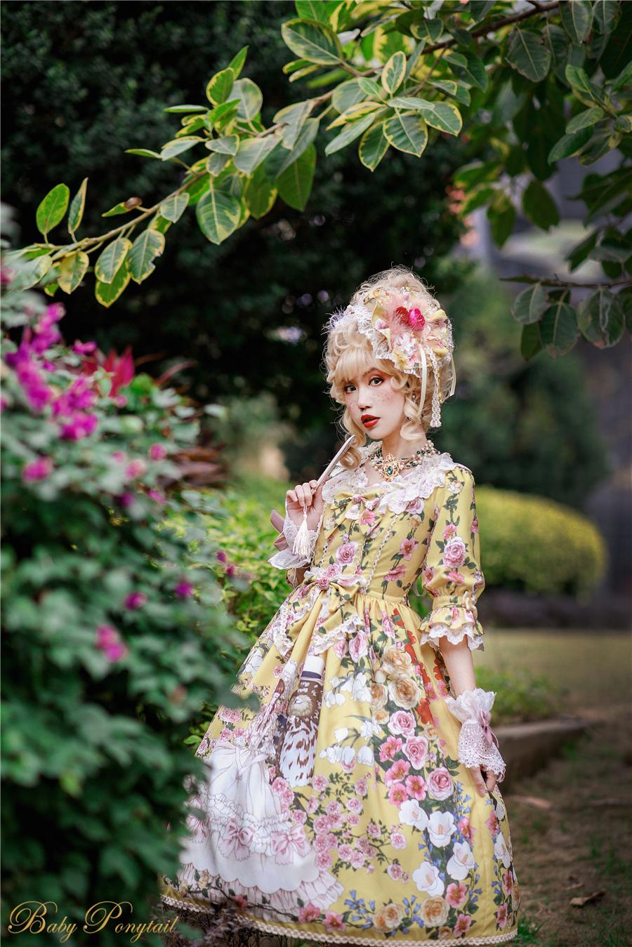 Baby Ponytail_Model Photo_Polly's Garden of Dreams_OP Yellow_Kaka_02.jpg