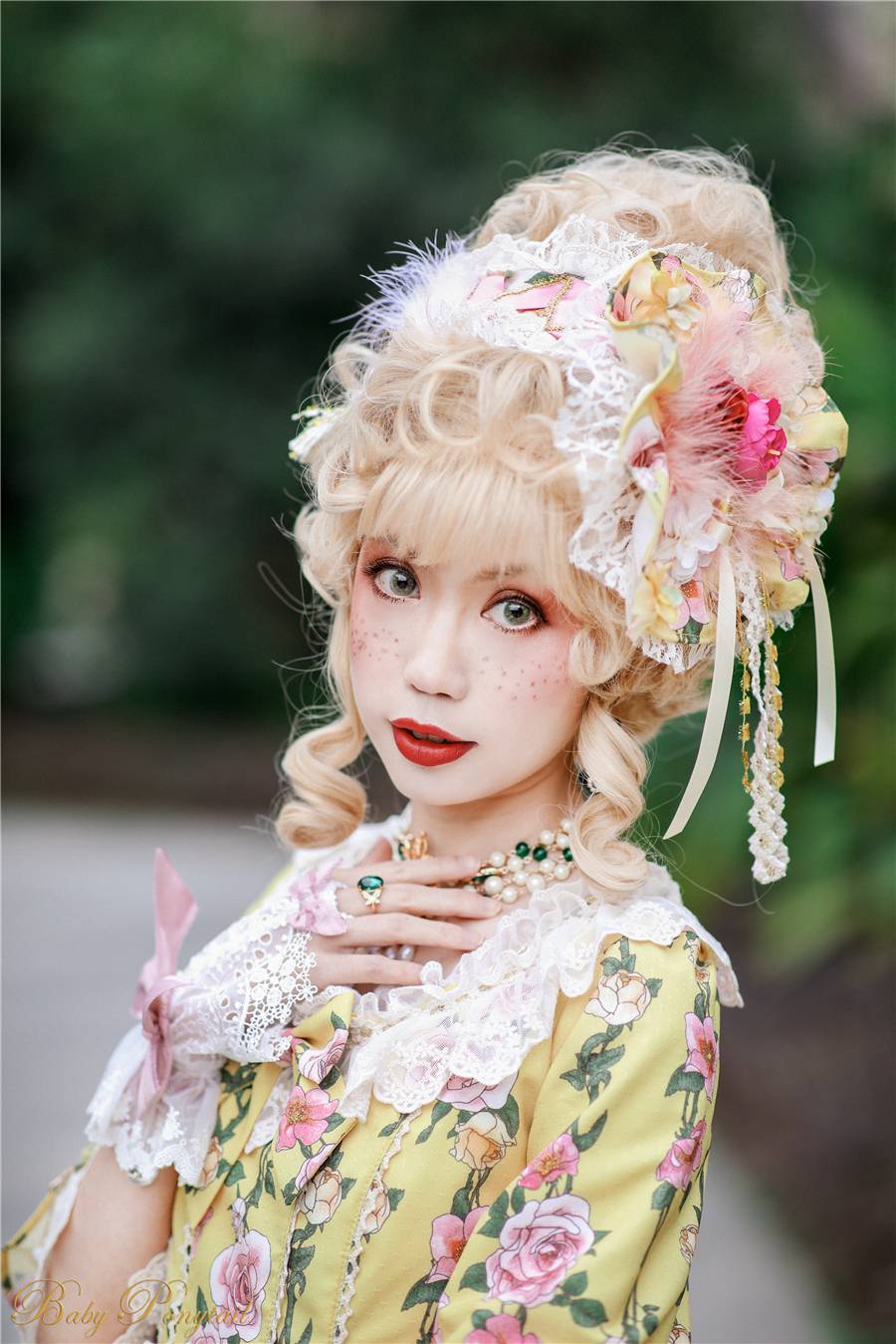 Baby Ponytail_Model Photo_Polly's Garden of Dreams_OP Yellow_Kaka_14.jpg
