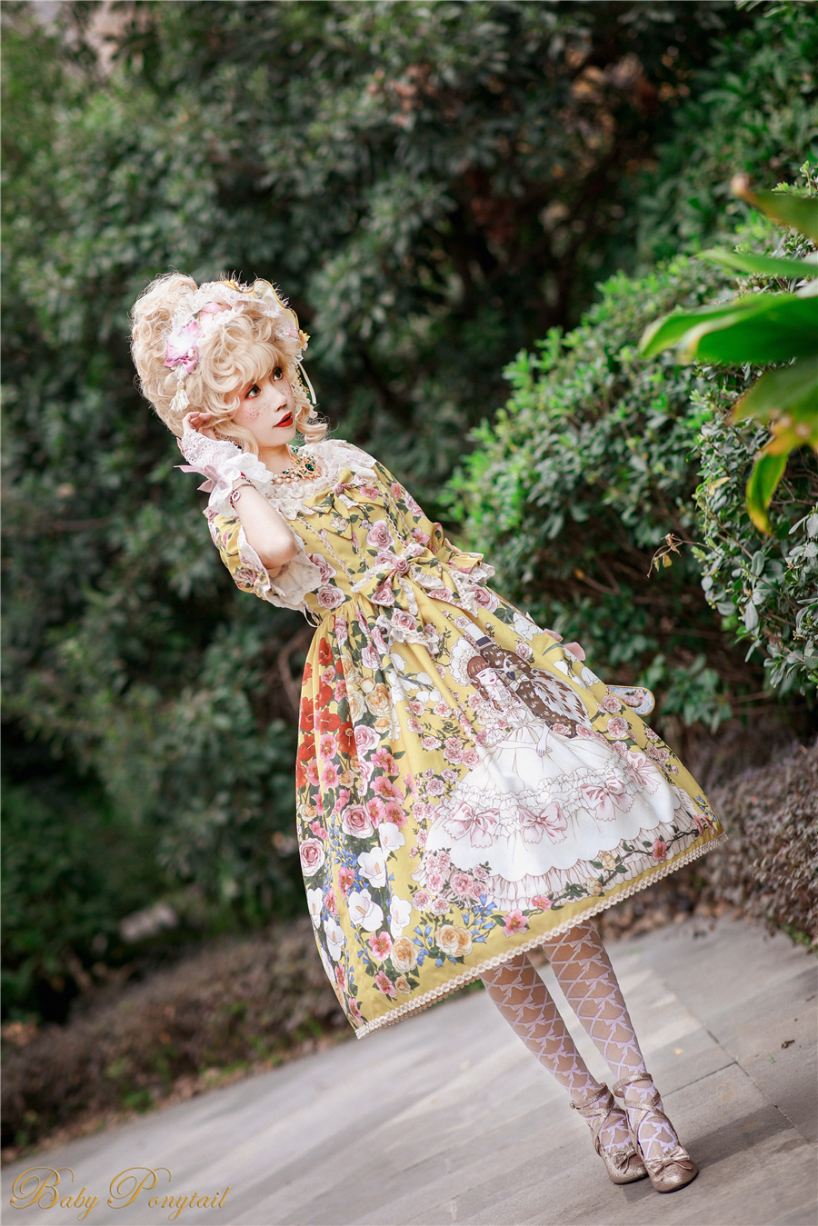 Baby Ponytail_Model Photo_Polly's Garden of Dreams_OP Yellow_Kaka_26.jpg