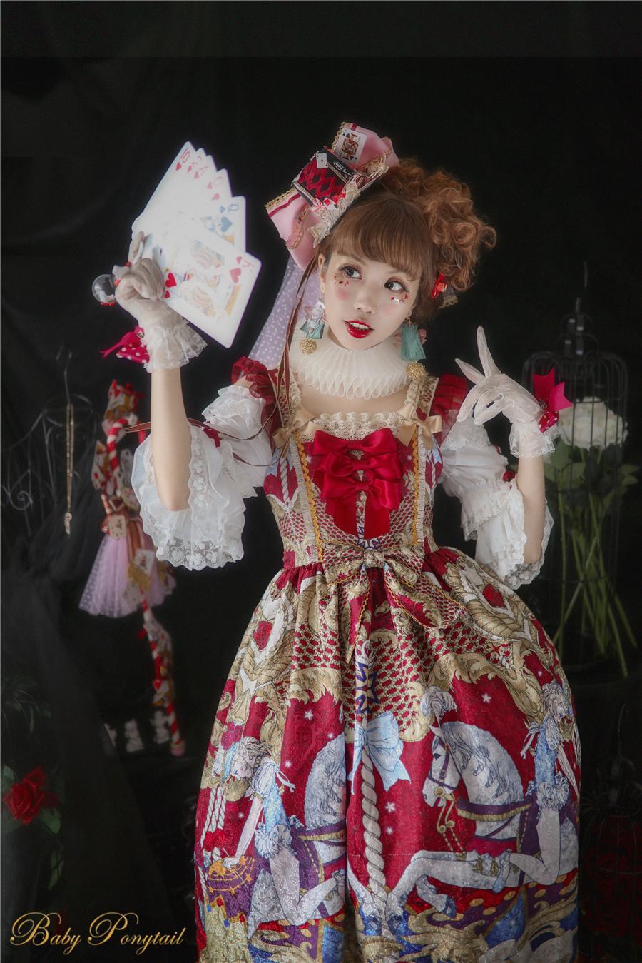 Baby Ponytail_Circus Princess_Red JSK_Kaka_01.jpg