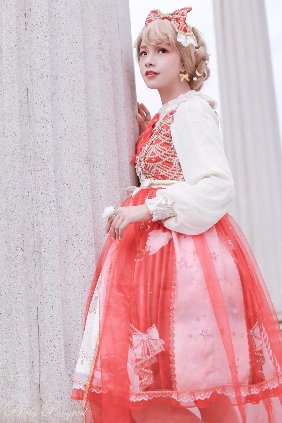 Baby Ponytail Masquerade Ballet Red JSK_谢安然_04.jpg