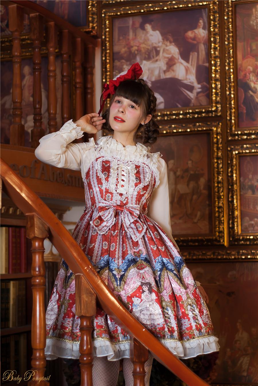 BabyPonytail_Model photo_My Favorite Companion_Red JSK-2_Claudia_1.jpg