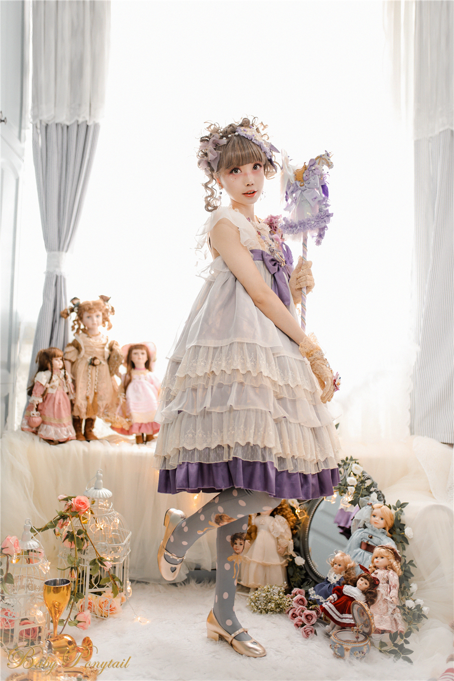 Babyponytail_Model Photo_Present Angel_JSK Violet_2_Kaka_02.jpg