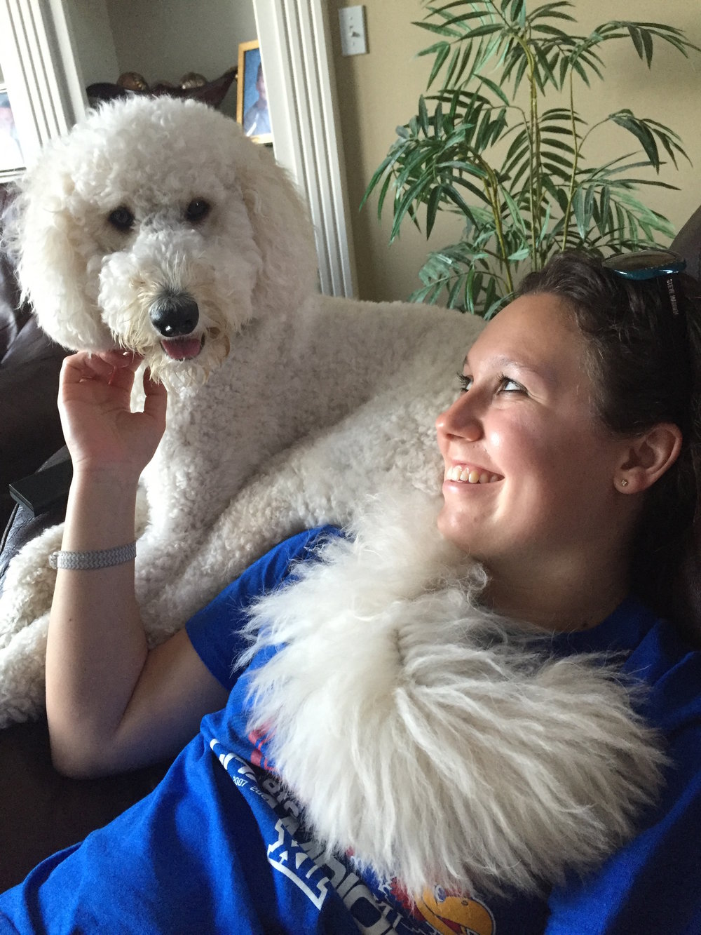 """I enjoy caring for pets because they are always so happy to see you, and I enjoy spending time with them to develop a bond."" -Nicole"