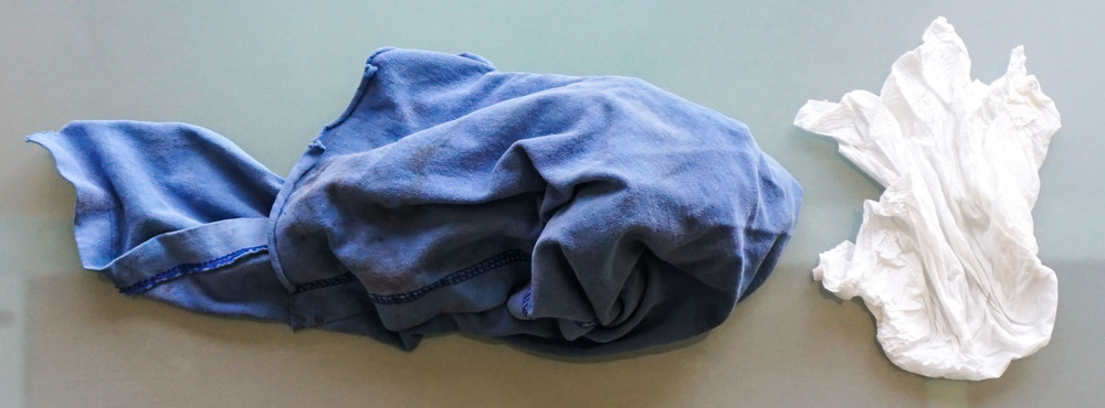 Fear not the old t-shirt rag! And remember to compost that dusty paper towel!