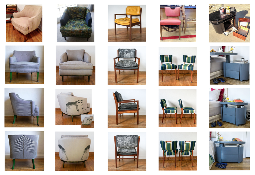 CLICK THROUGH:  Why our custom service is all about traditional AND green upholstery!
