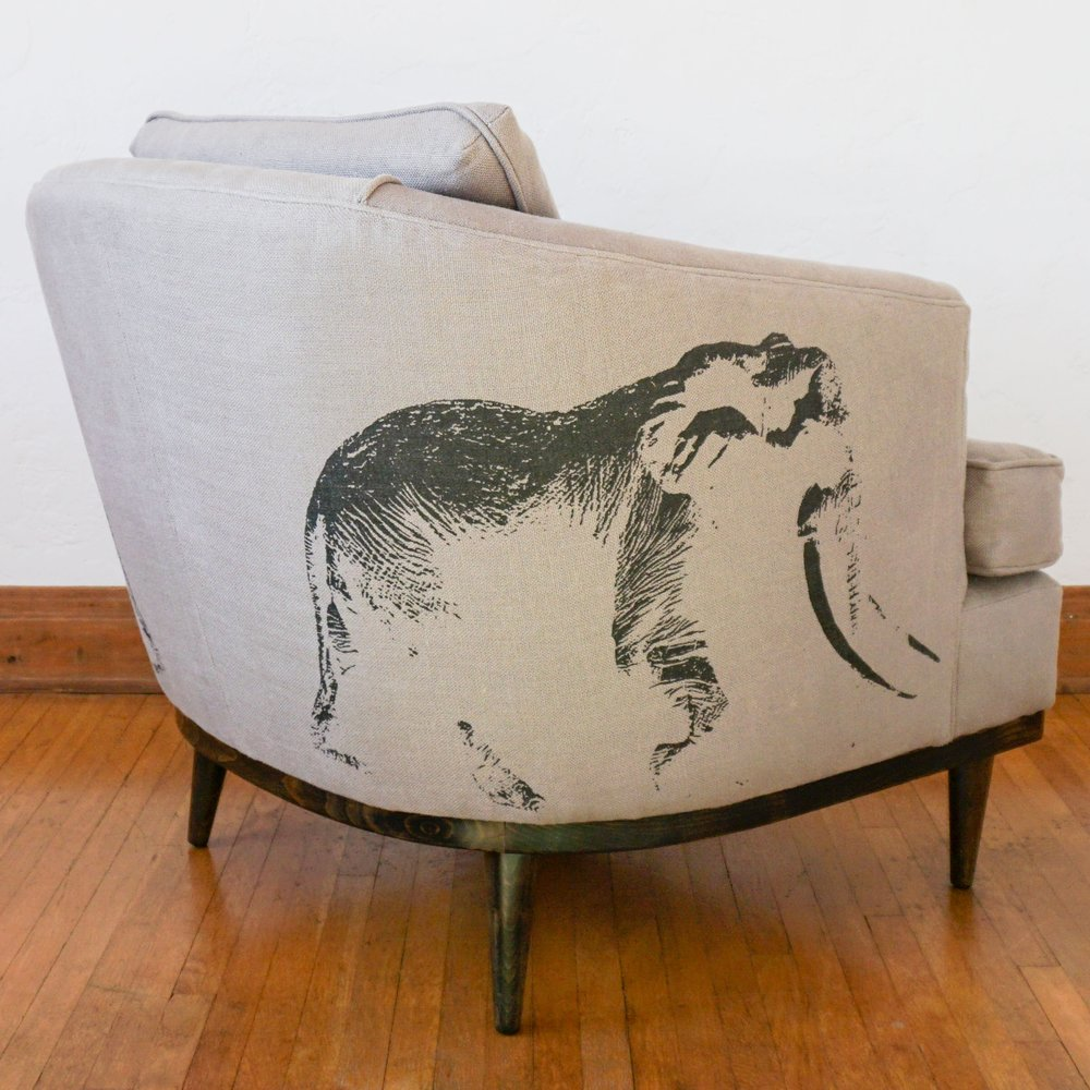 Elephants and Green Upholstery - Your couch really can effect the survival of animals in a different country.