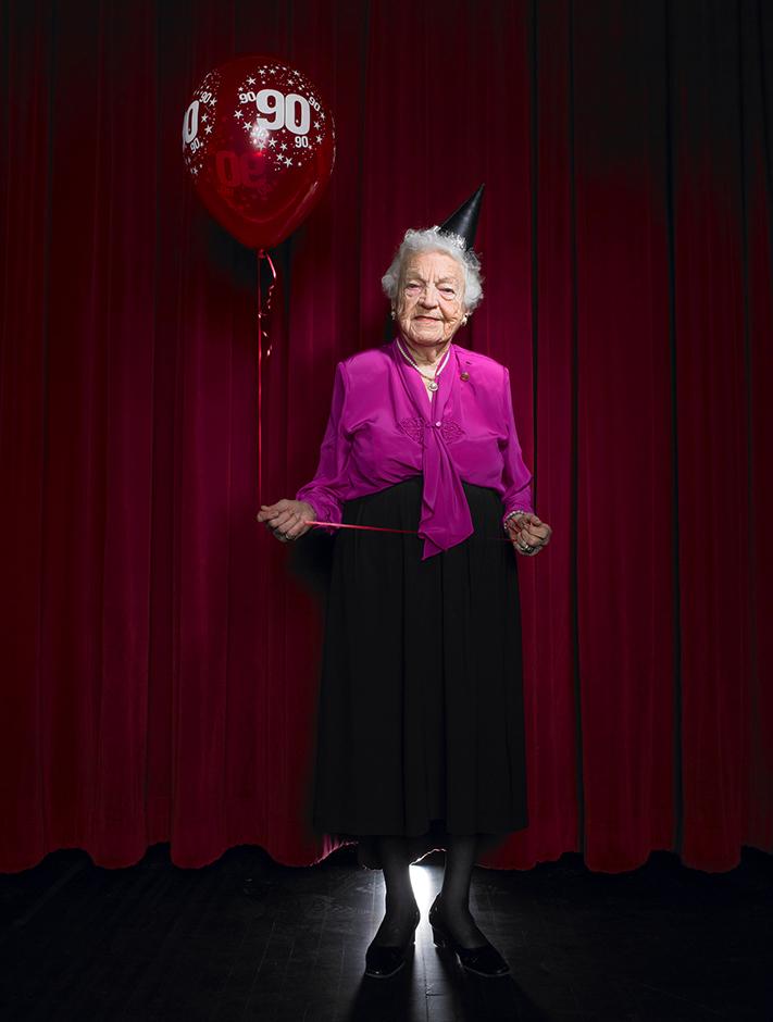 Mayor Hazel McCallion's 90th Birthday/Mississauga mayor for 33 years/Mississauga, ON, Canada/February 2011/shot for Toronto Life. © Naomi Harris