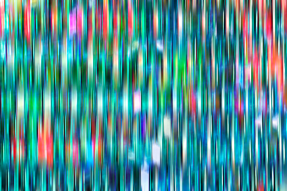 Color Refractions in Glass, Iceland © Eric Meola 2013