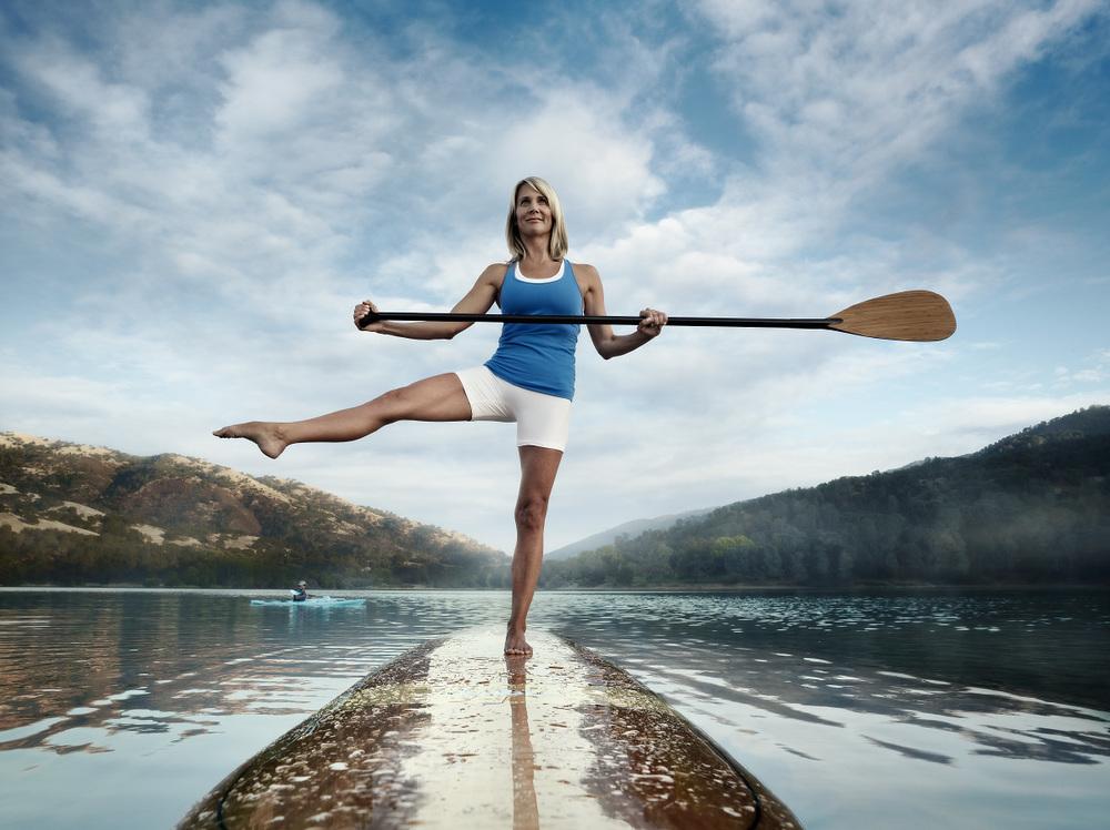 Title: Paddle Boarder. Client: Balance. © Julian Calverley