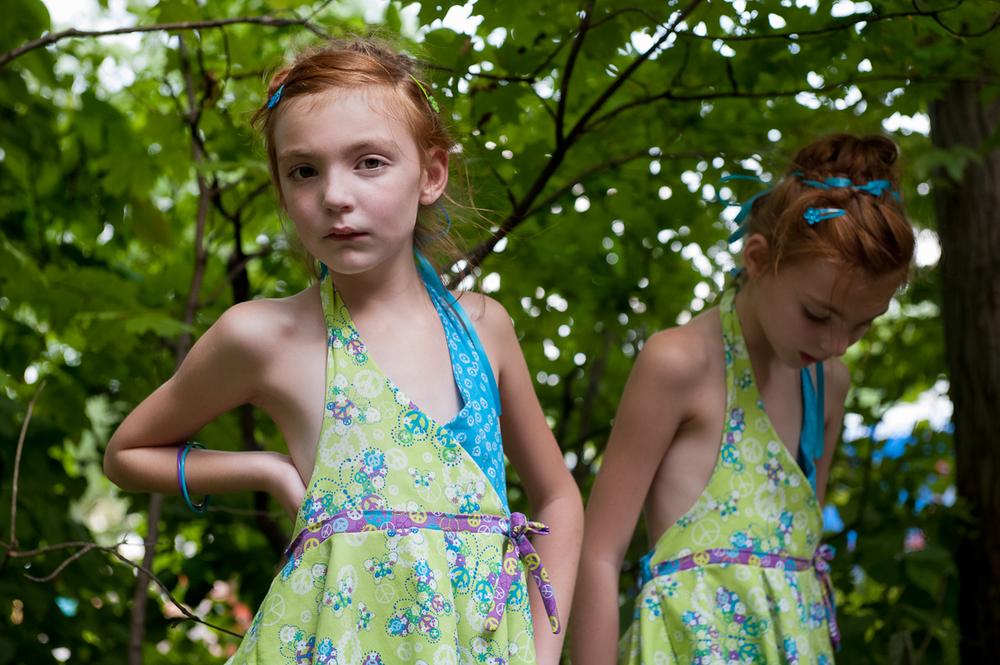 Eva and Johanna – Twinsburg, OH. ©Abby Kraftowitz