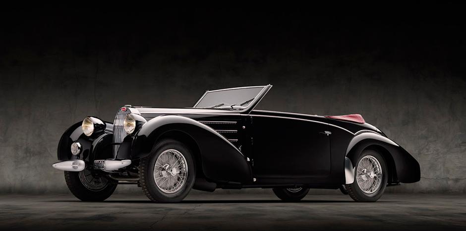 1937 Bugatti Type 57A. © Jim Haefner