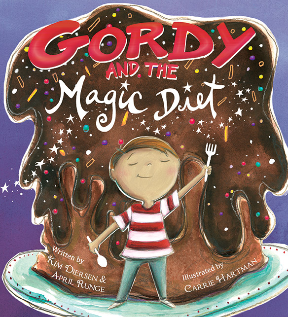 Gordy and the Magic Diet — Carrie Hartman Illustration