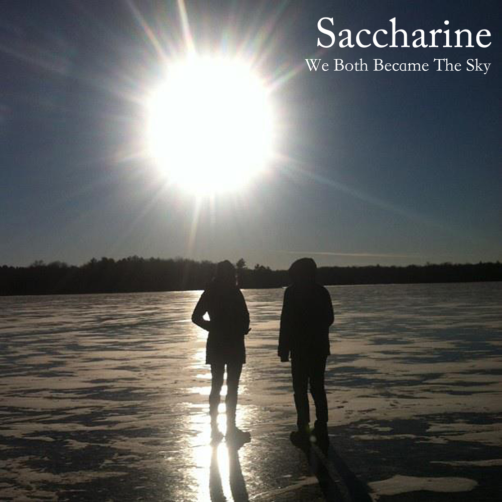 SACCHARINE WE BOTH BECAME THE SKY (2016)