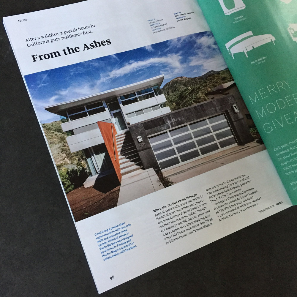 Anthrazit House in Dwell Magazine