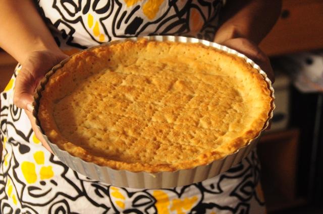 A beautiful pie crust