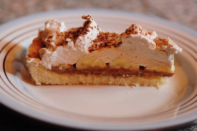 Presenting the banoffee!