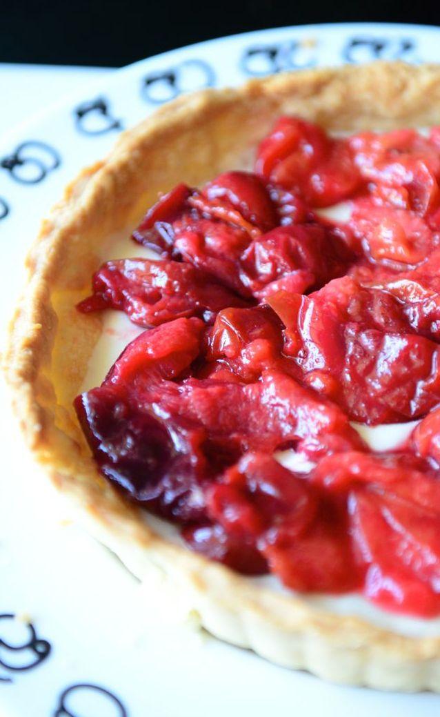 A Mascarpone & Plum Pie- A Deep Shade of Red — FOLLOW MY ...