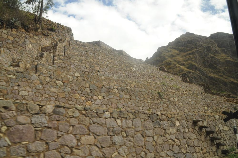 Old Inca ruins enroute. Most likely near Ollyantatambe.