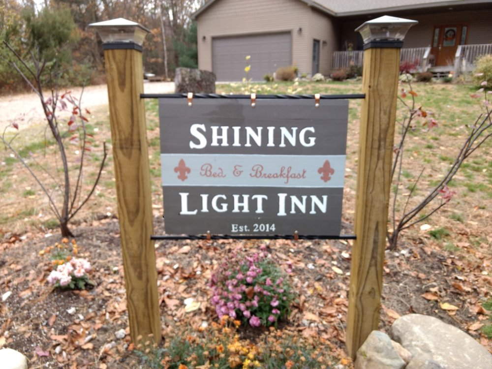 "Our History… - Shining Light Inn began many years ago as a far-off dream.In the spring of 2012, doors started opening for this dream to become a reality. It has been an exciting and at times not so easy road, but we always had faith that God was leading every step of the way through this adventure.After completion of our new home in January of 2014, (which is a long story in itself) the real fun began. The vision of the Inn has been to make our home feel like ""home"" to every person that walks through the door. This has been and still is a labor of love."