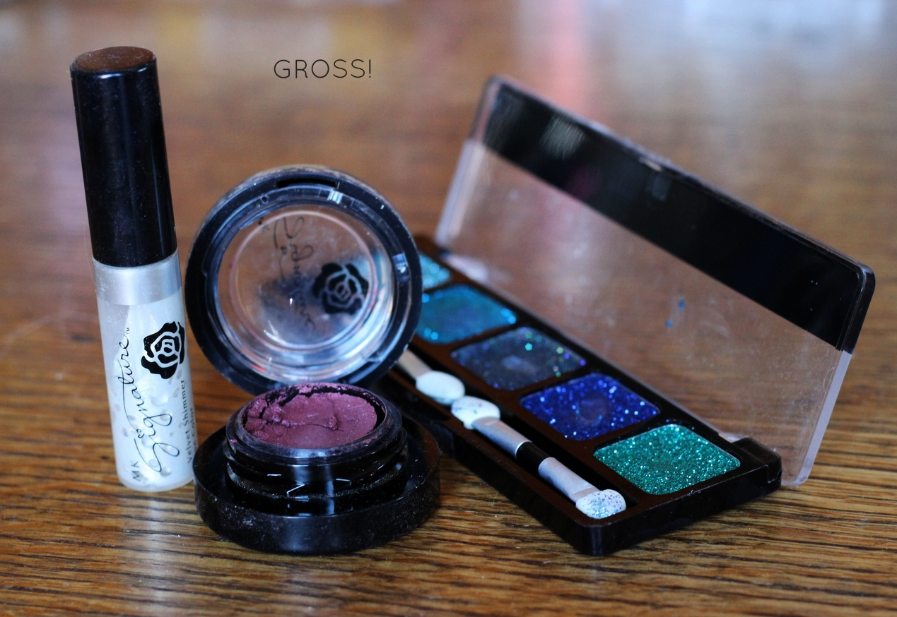 Get rid of old beauty products on belle meets world blog