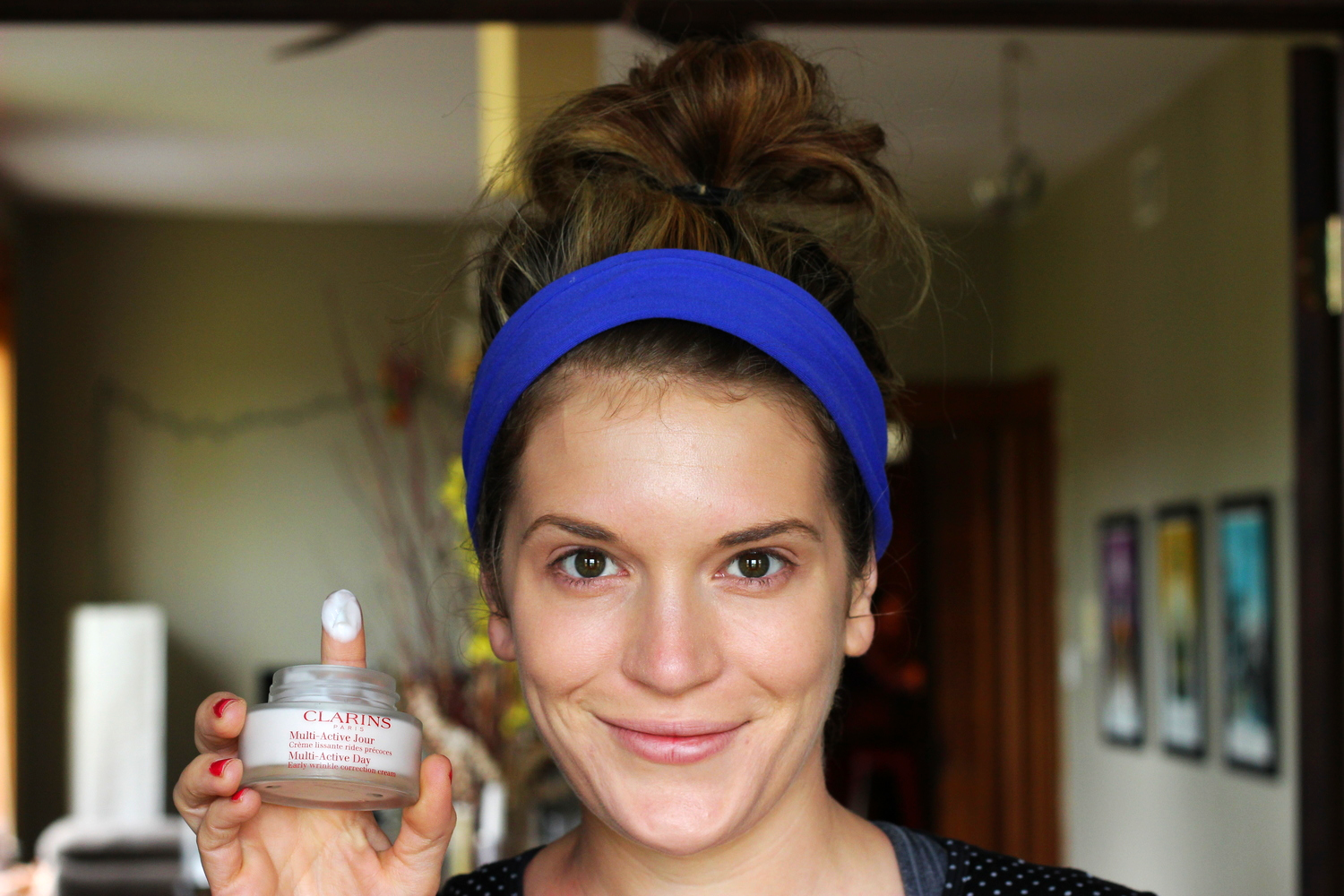 Clarins multi-active jour on belle meets world blog