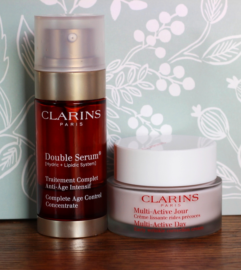Clarins Daily Duo on belle meets world blog
