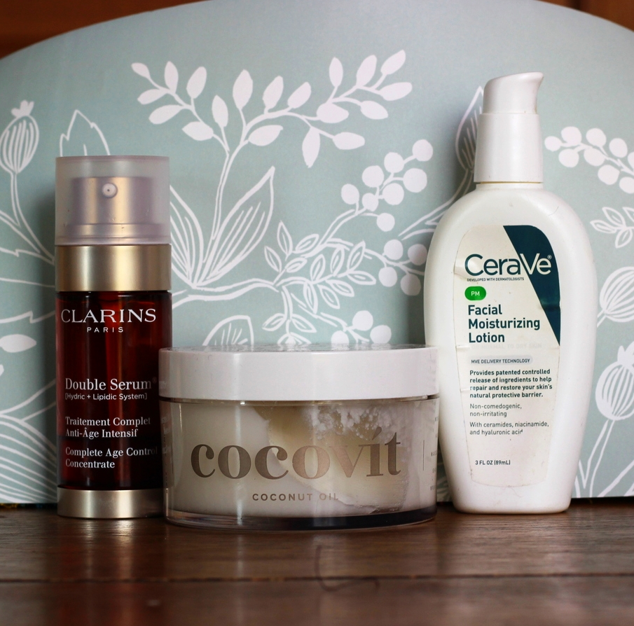 clarins serum plus night moisturizer on belle meets world blog
