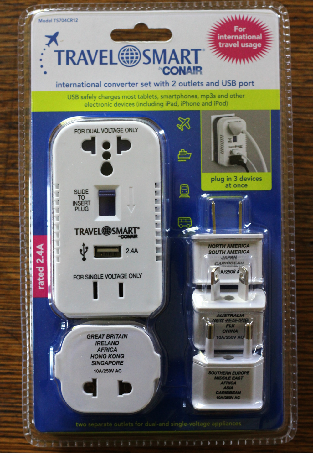 adapter and converter on belle meets world blog