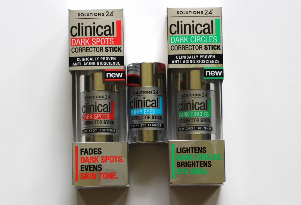 Solutions 24 Clinical Corrector Sticks - product test - on belle meets world blog