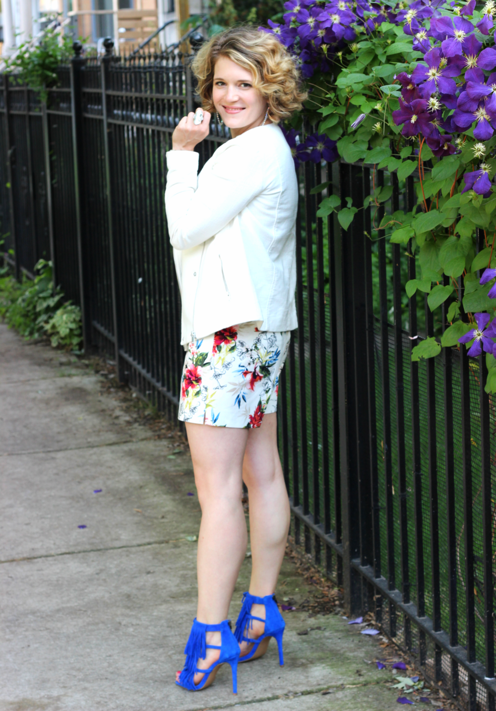 shorts with heels on belle meets world blot