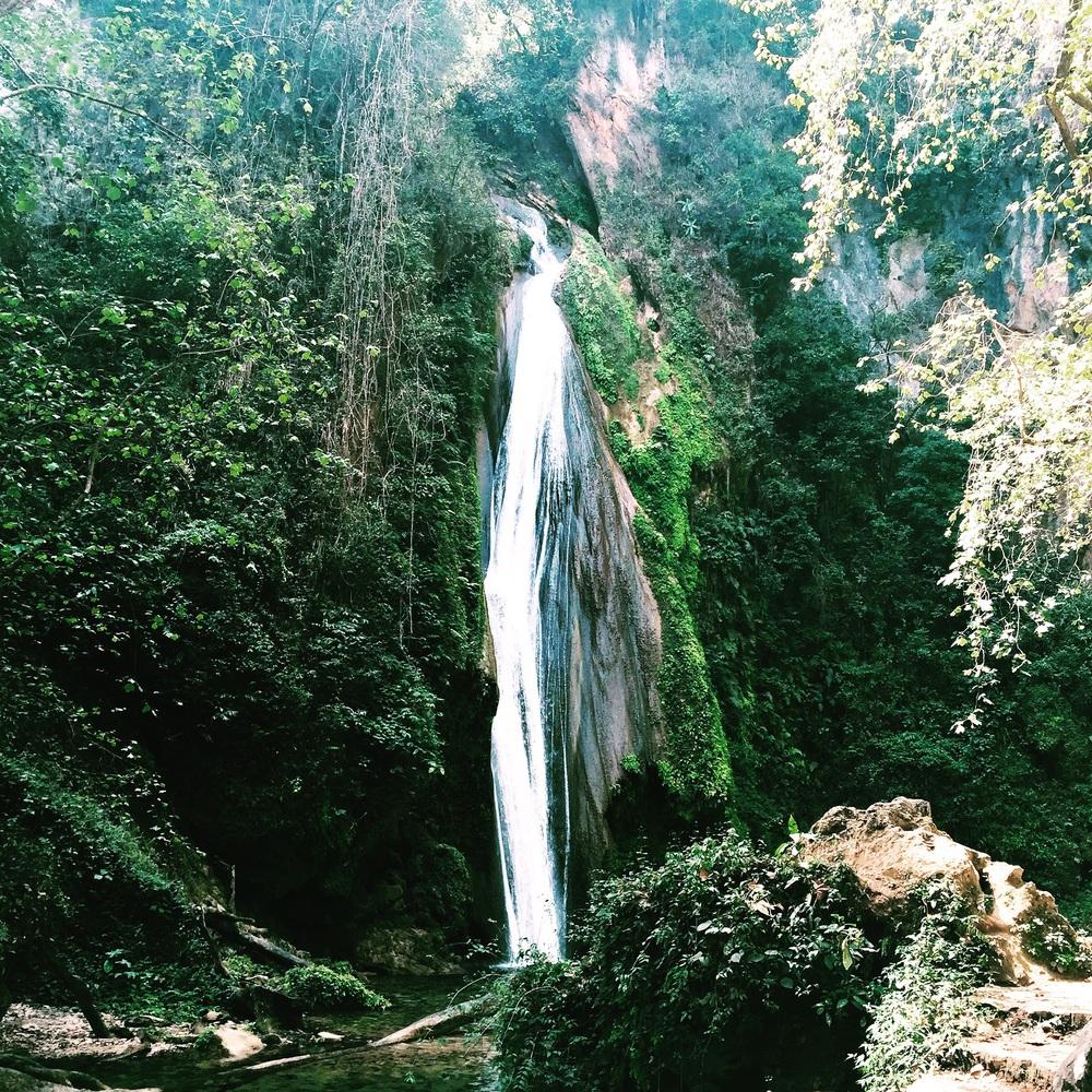 Cascada Chuveje