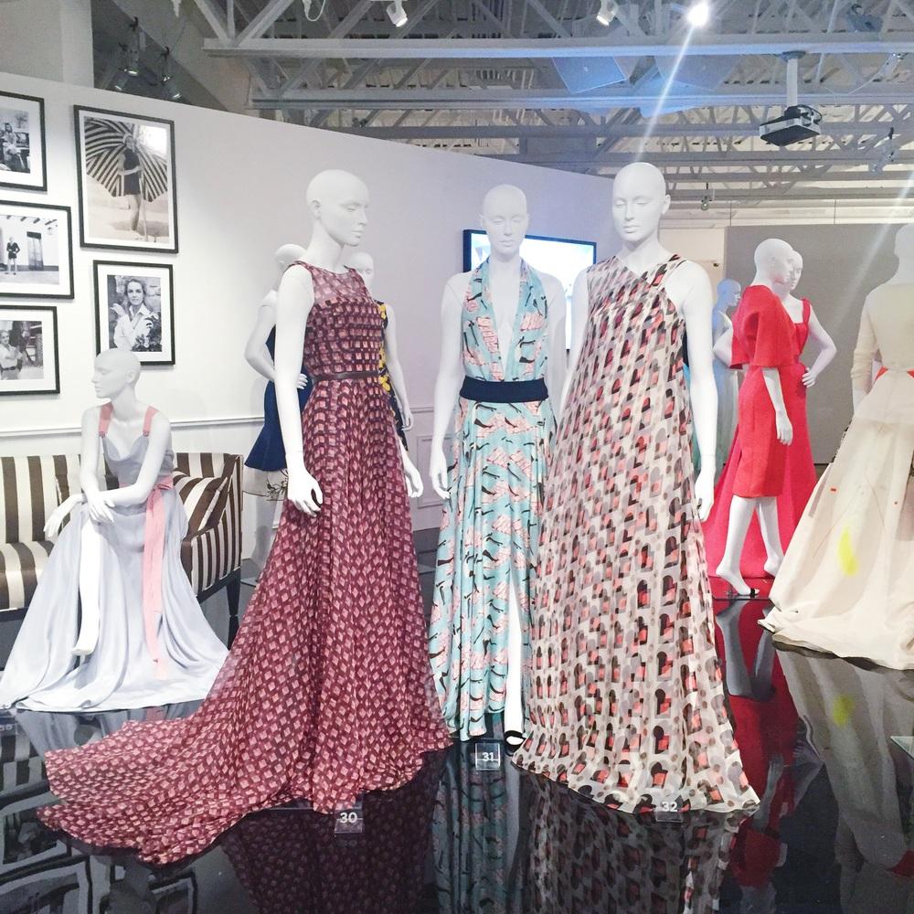 Carolina Herrera exhibit at the SCAD FASH museum