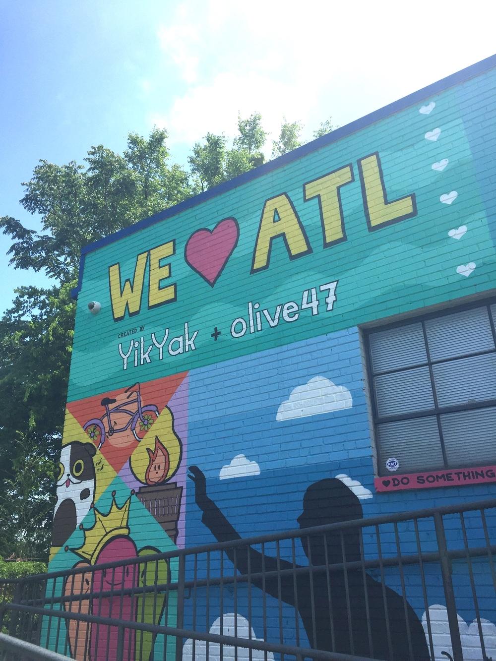 Street art at the belt line!