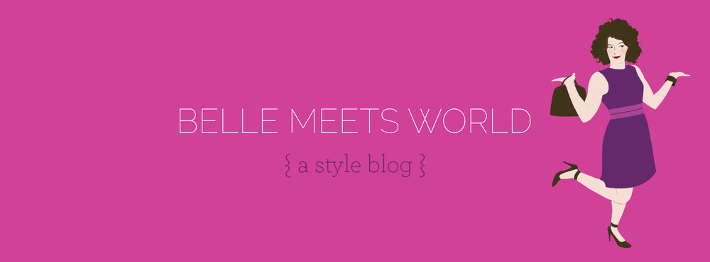 Original logo on Belle Meets World blog