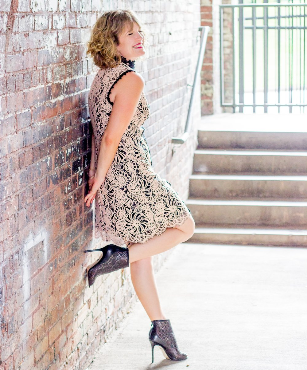 Leather and Lace on Belle Meets World blog