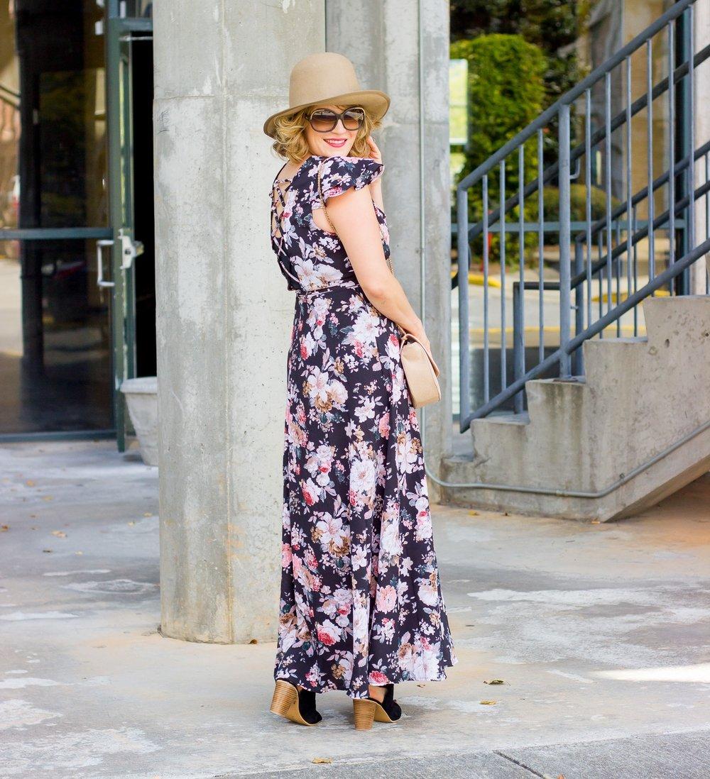 Maxi Dress on Belle Meets World blog