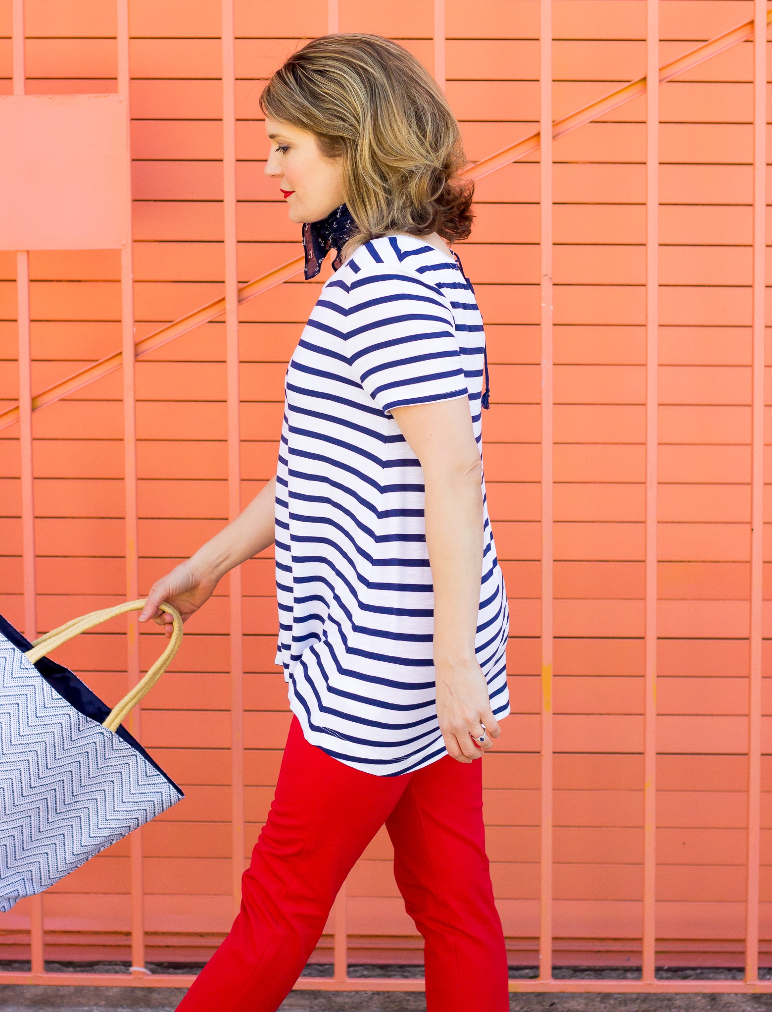 Old Navy nautical style on Belle Meets World blog