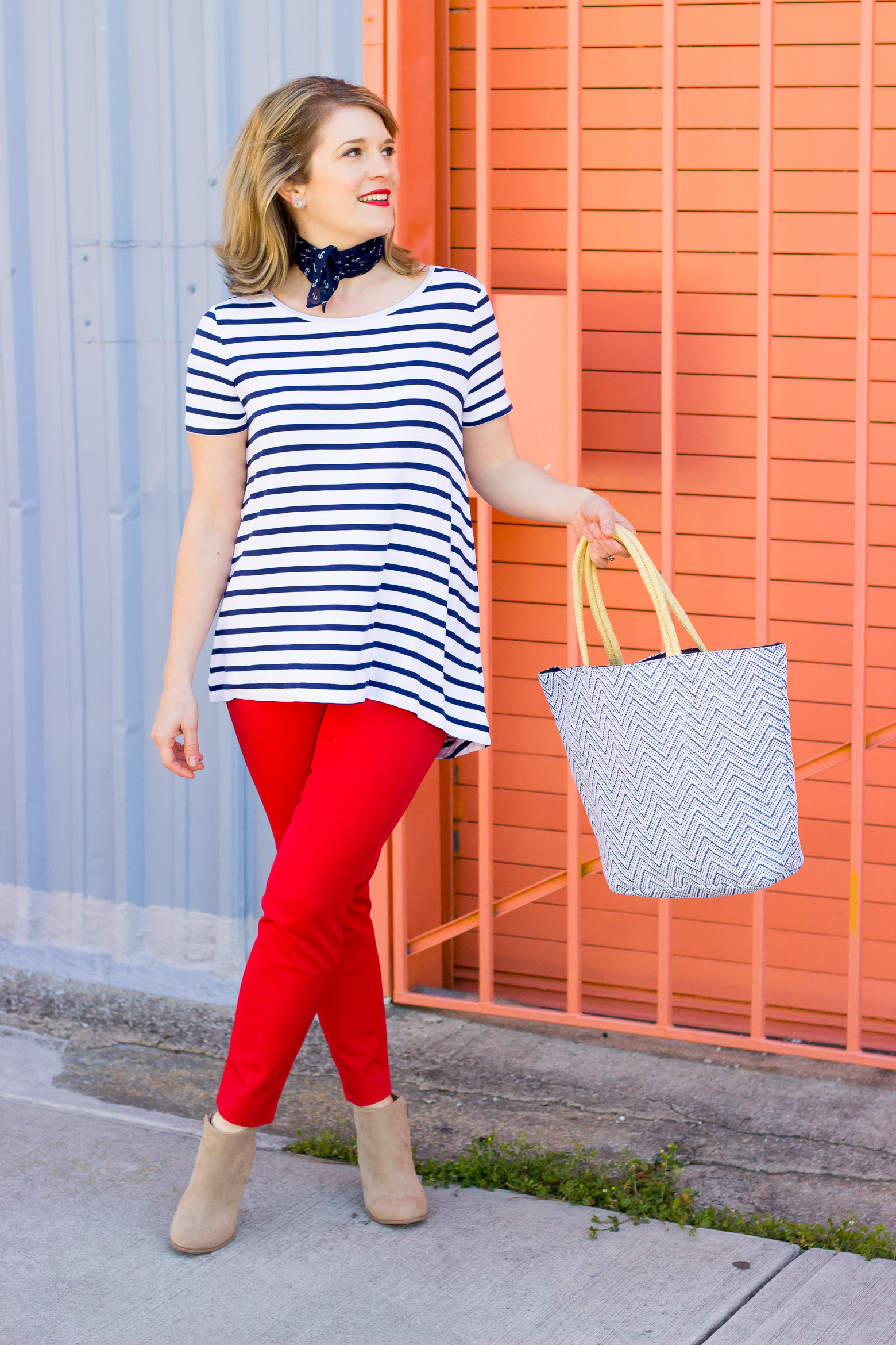 Nautical style on Belle Meets World blog