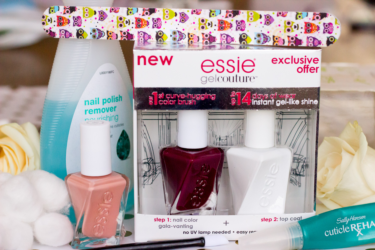 Essie Gel Couture Polish review on Belle Meets World blog
