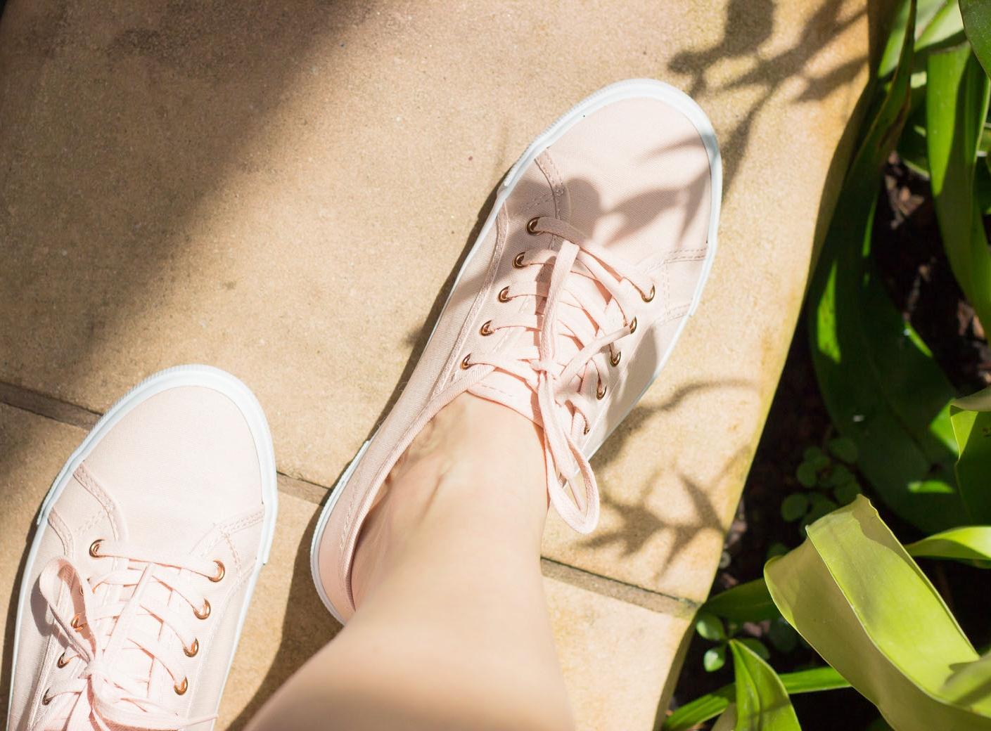 Pink sneakers by Old Navy
