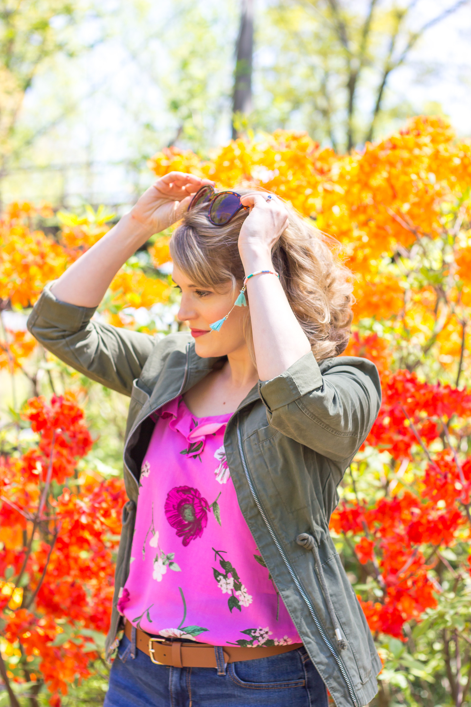 Summer outfit ideas on Belle Meets World blog