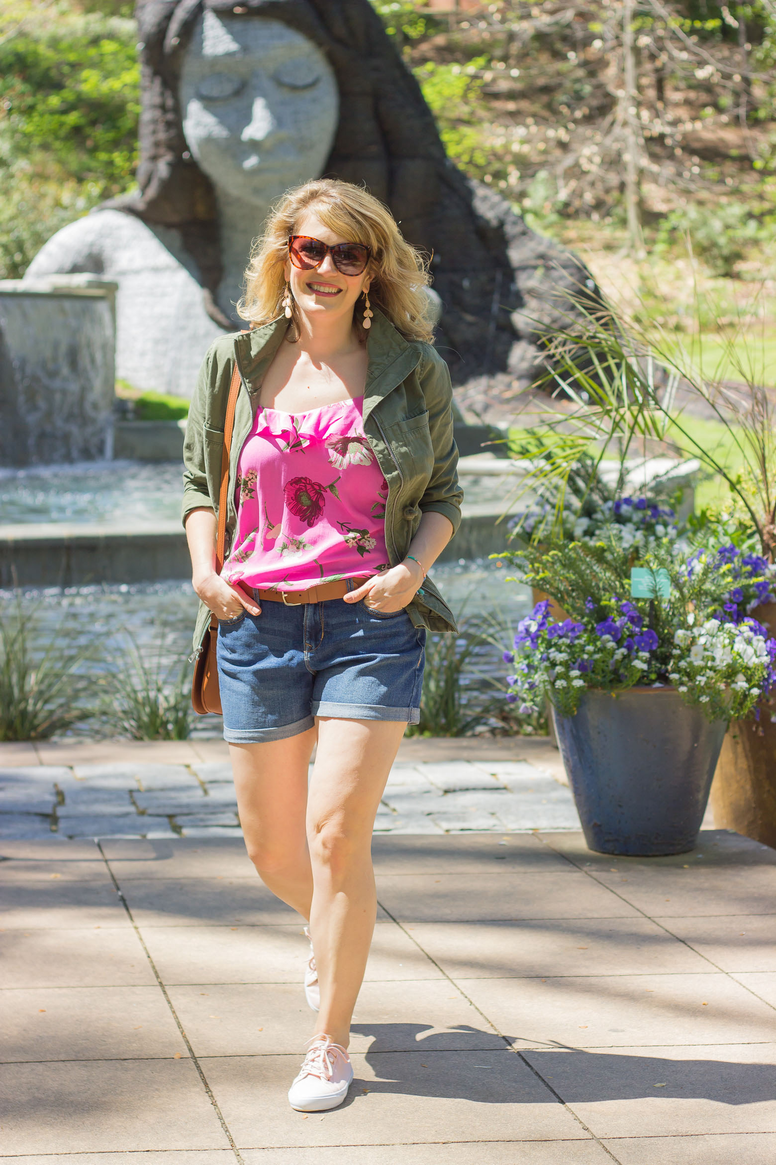 Summer outfit ideas with Old Navy on Belle Meets World blog