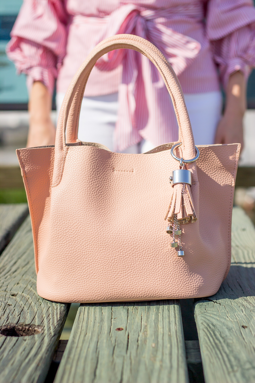 Zara pink bag
