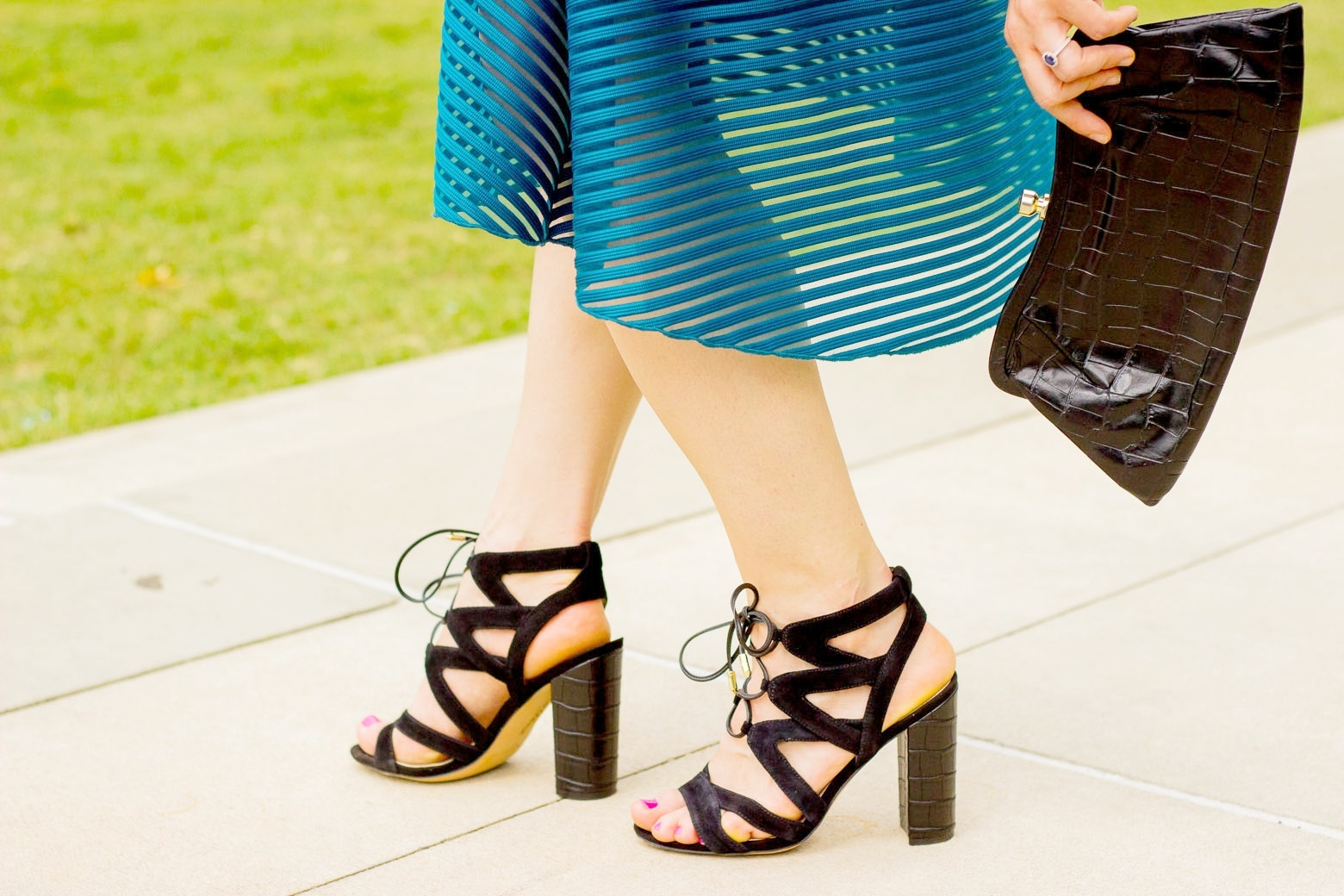 Sam Edelman Sandals on Belle Meets World blog
