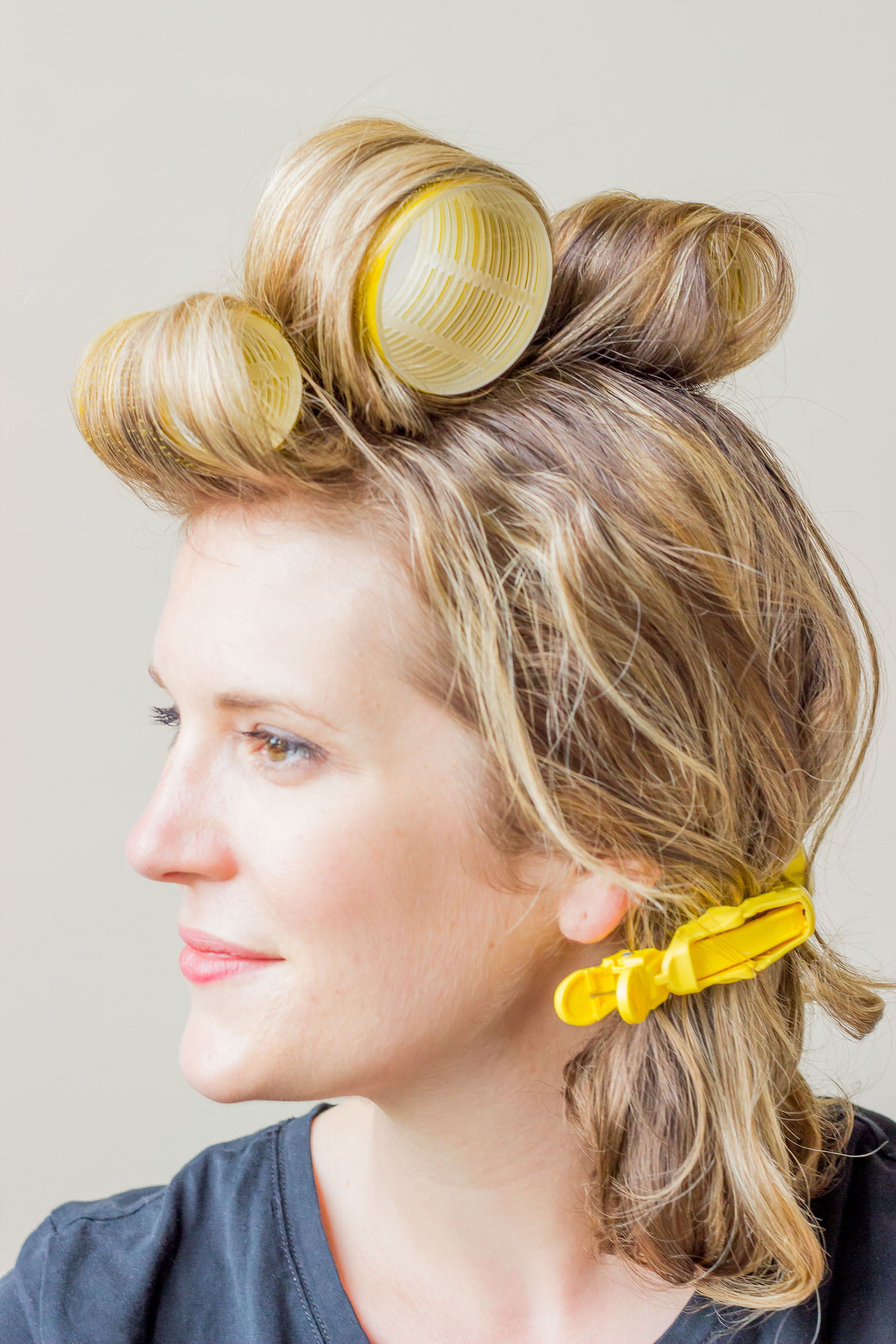 Dry Bar Velcro rollers on Belle Meets World blog