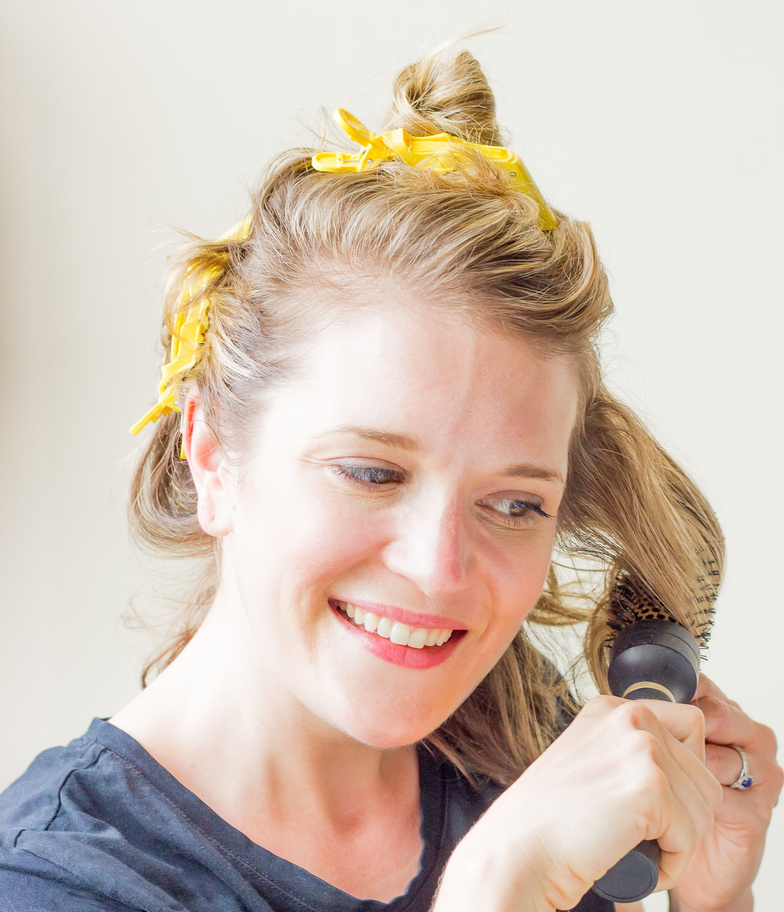 Drybar clips on Belle Meets World blog