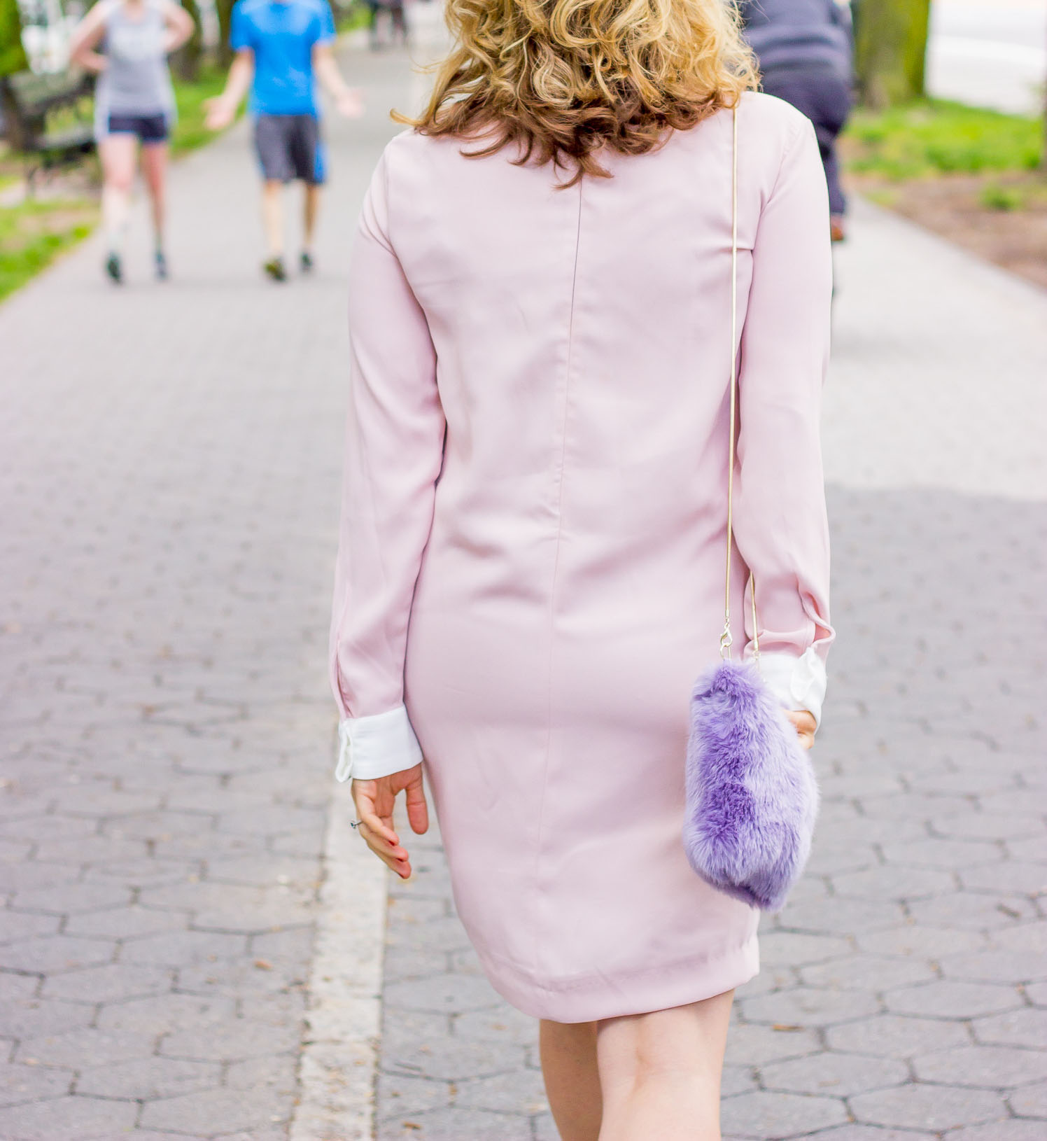 Victoria Beckham dress on Belle Meets World blog